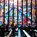 Stained Glass Historical Our Lady Of Czestechowa Shrine by Christopher Lotito