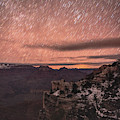 Star Trails Over Grand Canyon  by Chance Kafka