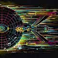 Star Trek Enterprise N C C 1701 by Rob Hans