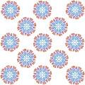 Starburst Pattern by Priscilla Wolfe