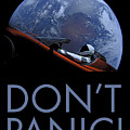 Starman Don't Panic In Orbit by Filip Hellman