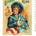 Starry Flagg Wrap A Round 3 by Reynold Jay