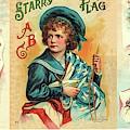 Starry Flagg Wrap A Round by Reynold Jay