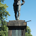 statue In memory of Gallant Soldier Lt. Col. George Elliott Bens by Victor Lord Denovan