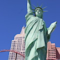 Statue Of Liberty Replica In Las Vegas by Laura Smith