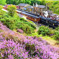 Steam Train At Goathland, North York Moors by David Ross
