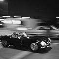 Steve Mcqueen Driving Sunset Strip by John Dominis