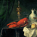 Still-life, 1650s by Simon Luttichuys
