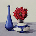 Still Life Red Rose by Christopher Ryland