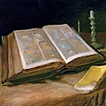 Still Life With Bible - Digital Remastered Edition by Vincent van Gogh