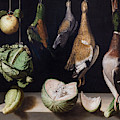 Still Life With Game Fowl by Peter Barritt