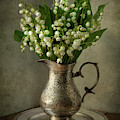 Still Life With Lily Of The Valley by Jaroslaw Blaminsky