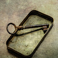 Still Life With Rusty Key by Jaroslaw Blaminsky