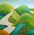 Stilling Hills by Angeles M Pomata