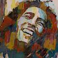 Stir It Up - Retro - Bob Marley by Paul Lovering