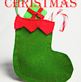 Stocking - Merry Christmas by Helen Northcott