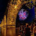 Stone Arch Bridge, July 4 by Joel Friedman