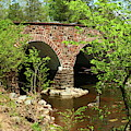 Stone Bridge At The Eastern Entrance Of The Manassas Battlefield  by Christiane Schulze Art And Photography