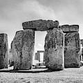 Stonehenge Monochrome by Sharon Popek