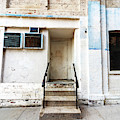 Stoop In Chelsea New York City by John Rizzuto