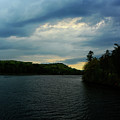 Storm Hits The Connecticut River On The Appalachian Trail by Raymond Salani III