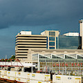 Storm Over Union Station by Terri Morris