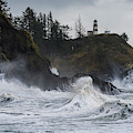 Storm Surf Cape Disappointment by Robert Potts