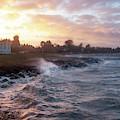 Stormy Coast by Kim Lessel