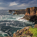 Stormy Sky Over Eshaness, Shetland by Arterra Picture Library