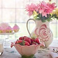 Strawberry Breakfast by Top Wallpapers