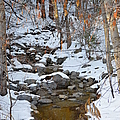 Strawberry Creek In Winter - Idyllwild by Glenn McCarthy Art and Photography
