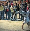 Street Acrobat by Jack Wilson