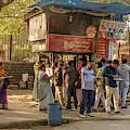Street Food Delhi by Werner Padarin