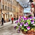 street Helsinki Finland by Yury Bashkin