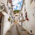 street in Mijas, Spain by Ariadna De Raadt