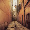 Street In Toulon, Cote Dazur by Ariadna De Raadt