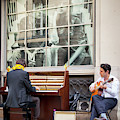 Street Musicians - Paris by Brian Jannsen