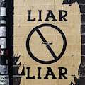 Street Poster - Liar Liar 2 by Richard Reeve