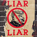 Street Poster - Liar Liar by Richard Reeve