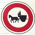 Street Sign Donkey Cart by Angelika GAIGL