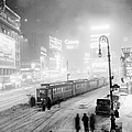 Streetcars Are Stuck At W. 45th St. In by New York Daily News Archive