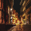 Streets Of Rome, Through Art And History - 02 by Andrea Mazzocchetti