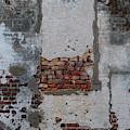 Stucco Brick Facade - Historic Charleston by Dale Powell