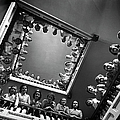 Student Nurses Lining The Railings Of by Alfred Eisenstaedt