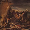 Study For The Raft Of The Medusa by Gericault Theodore
