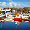 Stykkisholmur Harbor, Iceland by Lyl Dil Creations