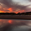 Sullivan's Island October Sky by Donnie Whitaker