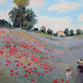 Summer Landscape Oil Painting by Erissona
