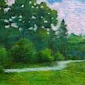 Green Summer  by Wonju Hulse