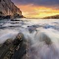 Summer Sunrise At Bald Head Cliff by Jesse MacDonald